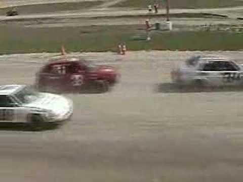 Keara's Wreck - #17 Pink Panther - Whip City Speedway