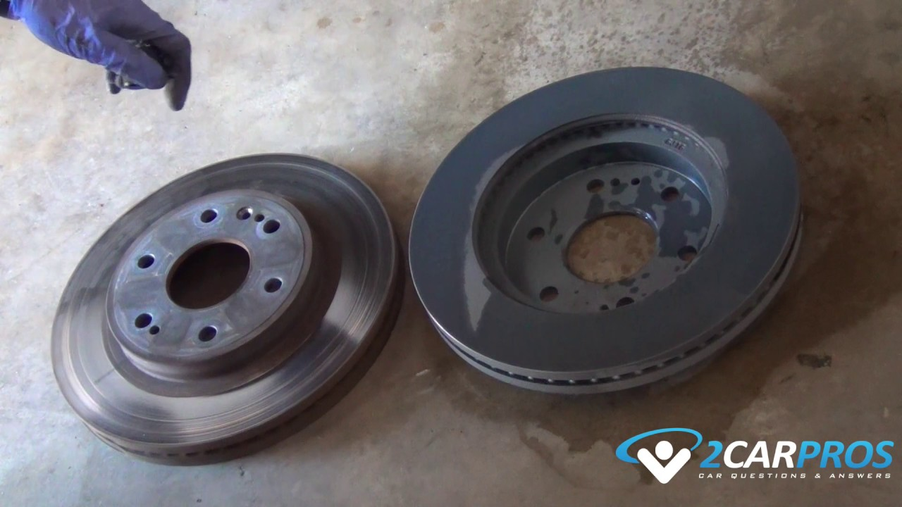 front brake pads & rotor replacement 2015-present chevrolet tahoe