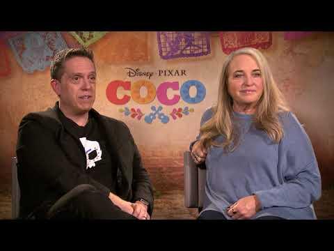Interviews Disney Pixar's Coco, Lee Unkrich And Darla K. Anderson
