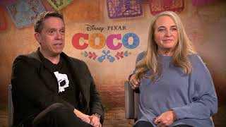 Interviews Disney Pixar's Coco, Lee Unkrich And Darla K. Anderson