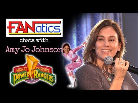 Amy Jo Johnson Q&A at London Comic Con  Go Go Power Rangers!