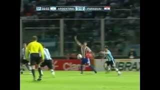 ARGENTINA 3 X 1 PARAGUAI - TODOS OS GOLS DE  07/09/2012