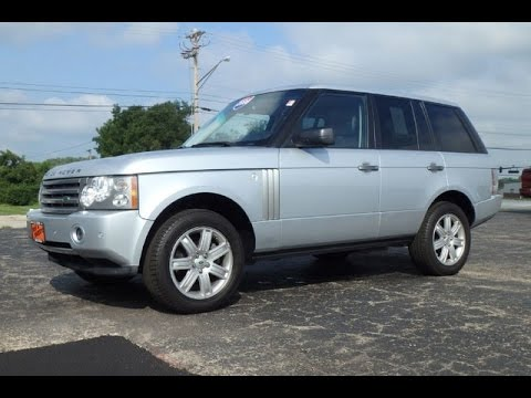 2008 land rover range rover hse for sale dayton troy piqua. Black Bedroom Furniture Sets. Home Design Ideas
