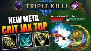 NEW OP CRIT JAX TOPLANE! - League of Legends