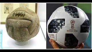 ลูกฟุตบอล ที่นำมาใช้ในศึกฟุตบอลโลก ตั้งแต่อดีตถึงปัจจุบัน