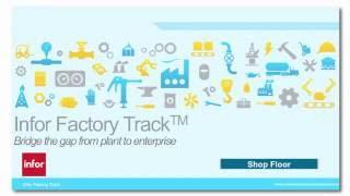 Infor Factory Track ShopFloor Overview