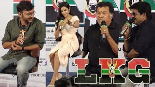 LKG Press Meet | RJ Balaji, Priya Anand, J.K. Rithesh | Leon James | K.R. Prabhu