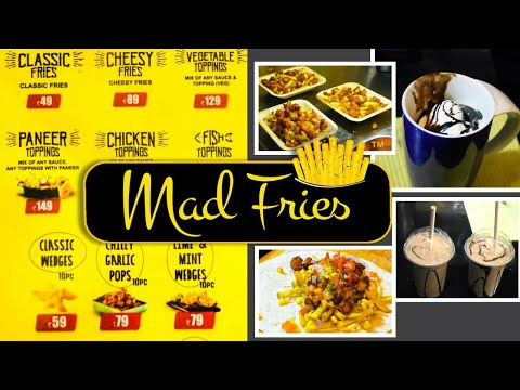 Mad Fries In Coimbatore | Food Street #03 | Kovai 360