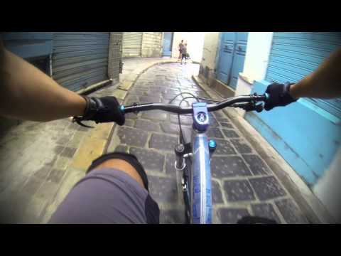 Downhill Ride in the old city of Tunis