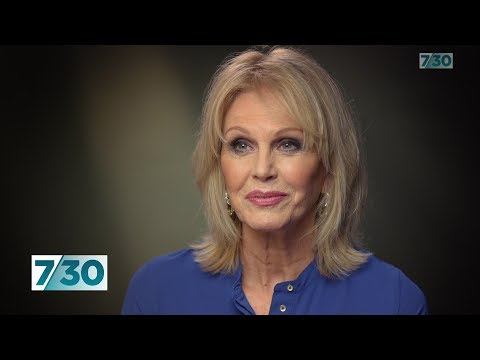 Actress Joanna Lumley interview on Blue Planet | 7.30