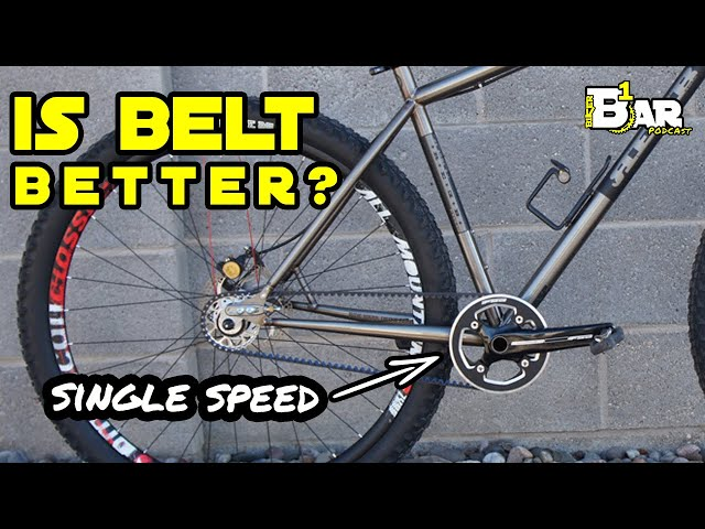 Is a BELT drive Single Speed the best? - B1KER Bar Bits