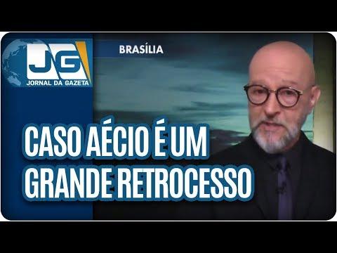 Josias de Souza/Caso Aécio é um grande retrocesso