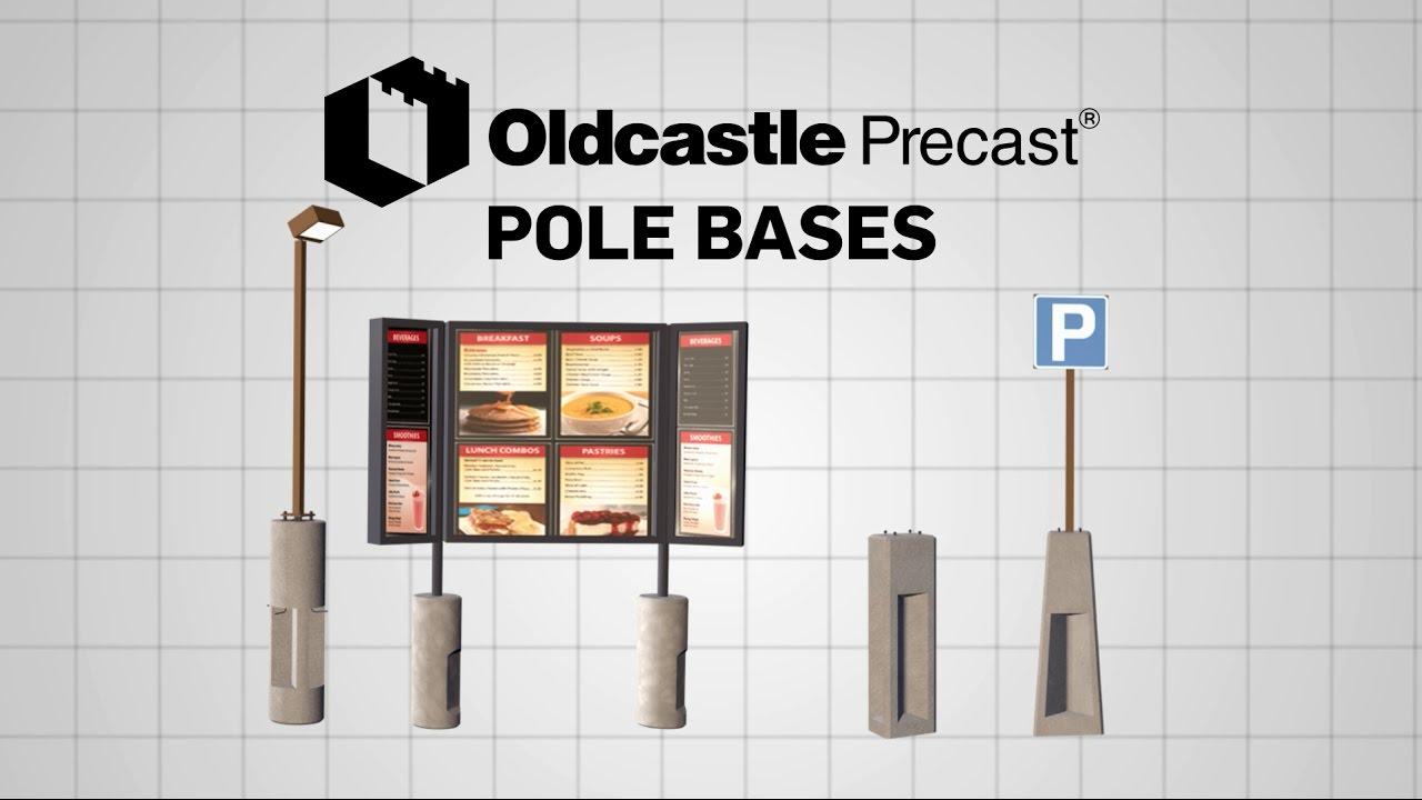 Oldcastle Precast Pole Bases