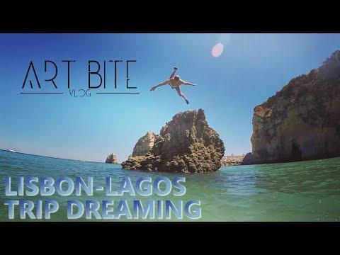 LISBON-LAGOS TRIP DREAMING //ARTBite Vlog//