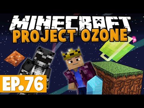Minecraft Project Ozone - EMC GENERATION! #76 [Modded HQM Skyblock]