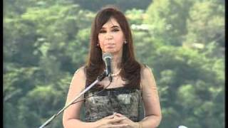 Conmemoración 25 de mayo de 2009. Discurso de la Presidenta Cristina Fernández