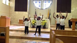 gospel praise children praise dance ministry presence of the lord byron cage