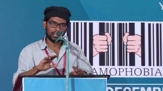 Muhammed Sha at International Islamophobia Conference, 2016 Dec 16-18,  University of Calicut