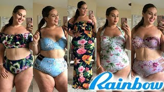 Video CHEAP SWIM Try-On Haul at Rainbow Shops |Plus Size Fashion| download MP3, 3GP, MP4, WEBM, AVI, FLV Agustus 2018
