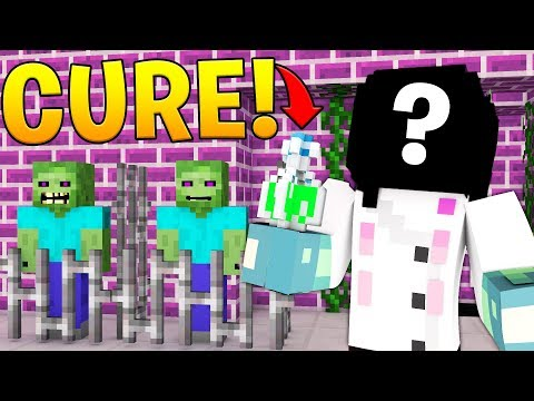 THE MAD SCIENTIST'S CURE! - MINECRAFT FEAR THE CRAFTING DEAD #7