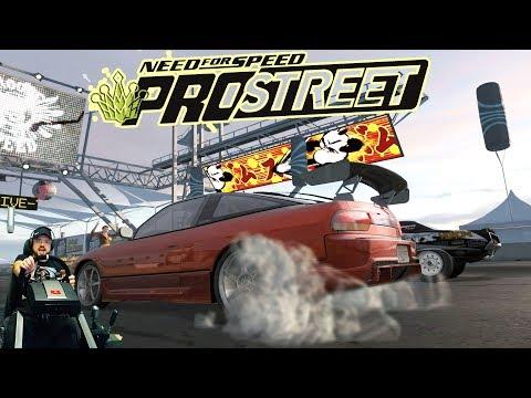 Need for Speed: ProStreet изи катки на руле Fanatec CSL Elite