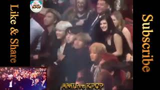 BTS reaction to Demi Lovato's Sorry Not Sorry @ AMAs 2017