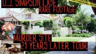O.J. Simpson  Murder Scene - 21 Years Later