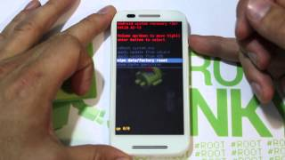 How to Factory Reset your Motorola Moto E in Stock Android Recovery