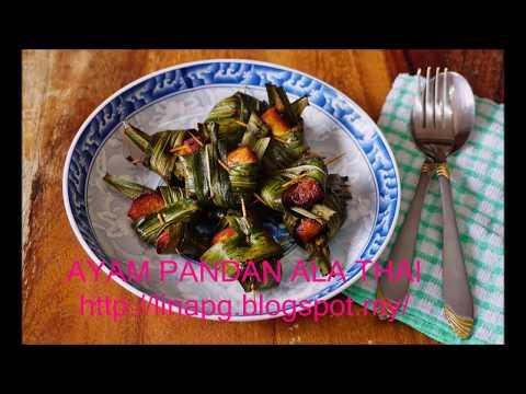 resepi-ayam-pandan-ala-thai-paling-mudah-dan-sedap-|-chicken-pandan-easy-recipe