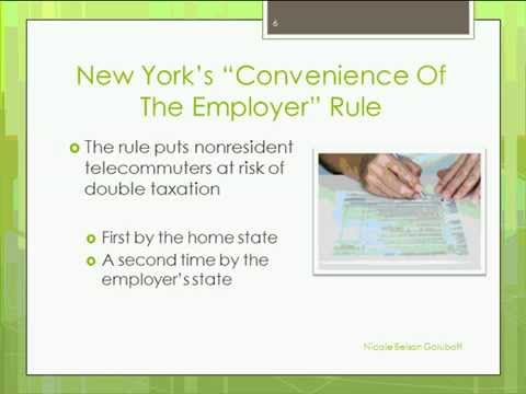 Tax Penalties for Telecommuting