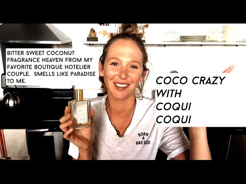 Coqui Coqui Coco Oil for the Chicest Bath on Earth