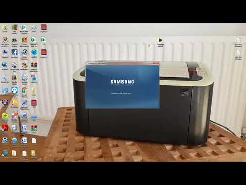 How To Setup Samsung 1860 Printer Driver Softwere   Windows 7 , 32 And 64 Bit  And Xp