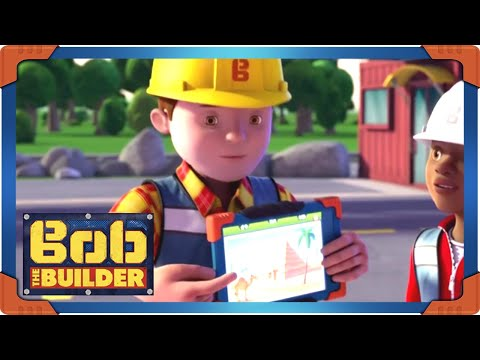 Bob the Builder | Pyramid construction from thousand years ago  ⭐ New Episodes ⭐ Kids Movies