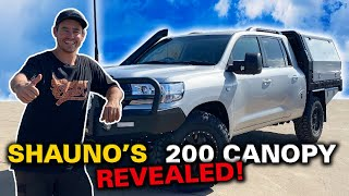 CHOPPED 200 LANDCRUISER CANOPY BUILD! What Shauno did differently this time - 200 Build Ep 2