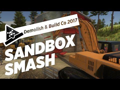 SANDBOX SMASH - ep 1 - Let's Play Demolish and Build Company 2017 Gameplay