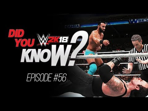 WWE 2K18 Did You Know? Singles Title Tag Matches, Alternate Cutscenes & Hidden Audio! (Episode 56)