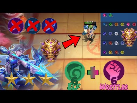 #Magicchess #Mobilelegends 6 Elf + 6 Wrestler Combo   Mage Counter   Best Magic Chess Synergy Combo from YouTube · Duration:  15 minutes 47 seconds