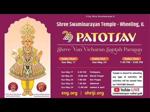 29th Patotsav - Swaminarayan Mandir Wheeling Chicago - Day 6