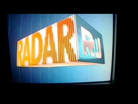 Globo erra a vinheta do radar rj.