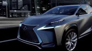 Lexus LF-NX Turbo Concept 2013 Videos