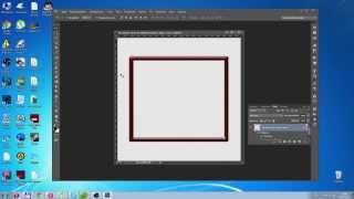 создание прямоугольной рамки на прозрачном фоне в фотошопе (Photoshop CS6 )