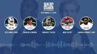 UNDISPUTED Audio Podcast (9.11.18) with Skip Bayless, Shannon Sharpe & Jenny Taft | UNDISPUTED