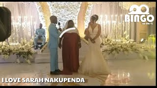 HARUSI ya HARMONIZEna SARAH/Harmonize Ashindwa kujizuia Mbele ya Mama yake  Mzazi