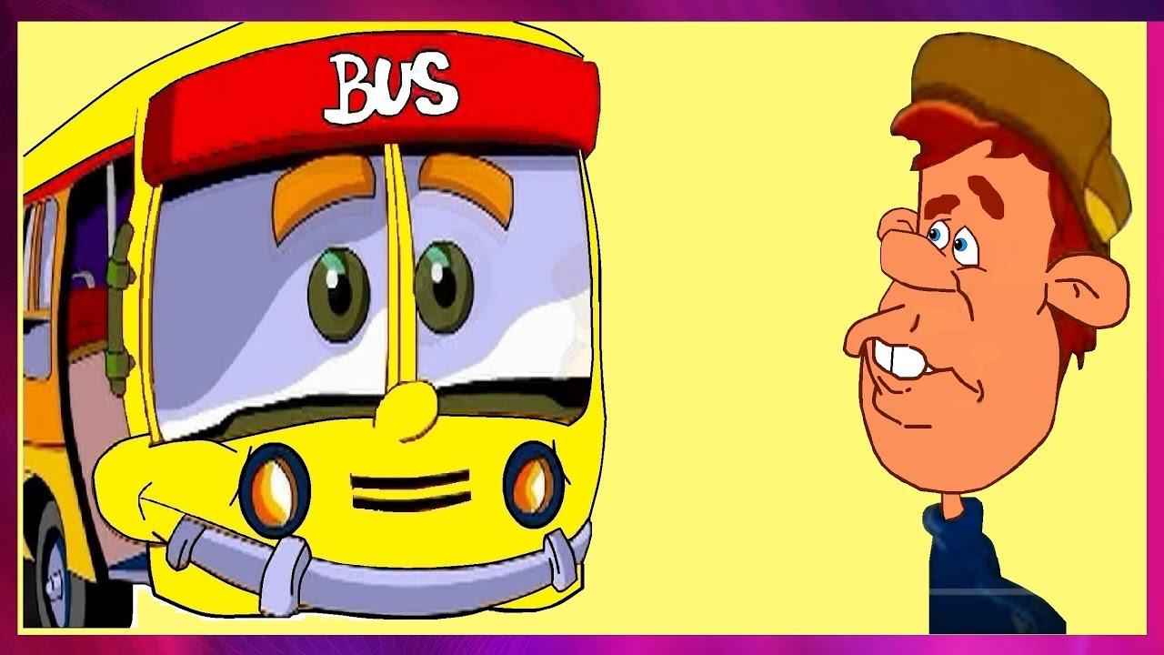 Personajes Comunes En Un Viaje En Autobús: LAS RUEDAS DEL AUTOBUS