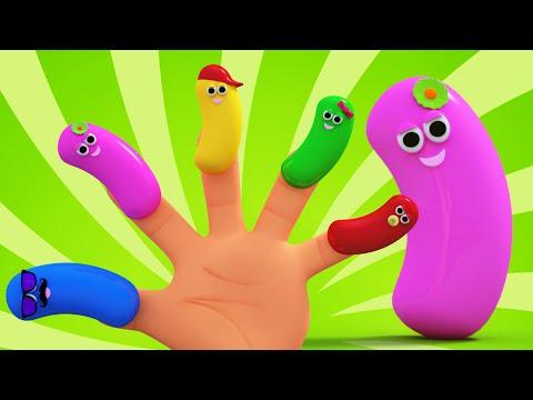Jelly Bean Finger Family Song | Nursery Rhymes And Children's Song | Kids TV