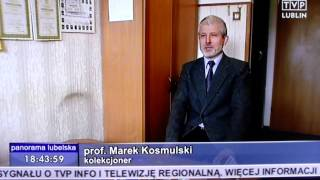 Marek Kosmulski i jego kolekcja etykiet z sera - Panorama Lubelska