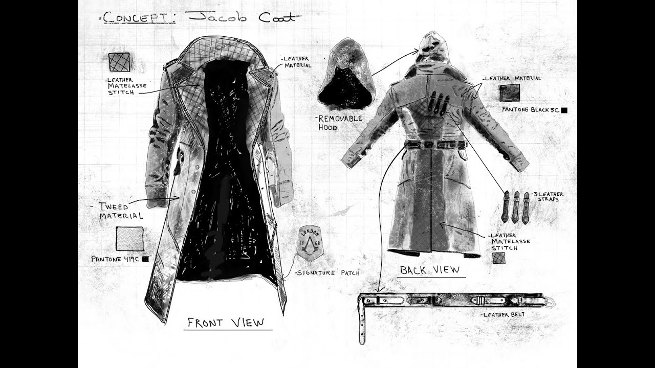 Assassin's Creed Syndicate Jacob Frye costume plans & Ubi Workshop Jacob coat rant