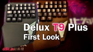 Delux T9 Plus Gaming Keyboard First Look | Digit.in