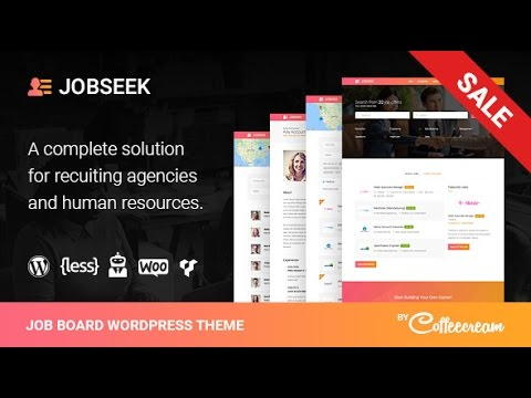 Jobseek v2.2.8 – Job Board WordPress Theme DESCARGA GRATIS !!! - YouTube