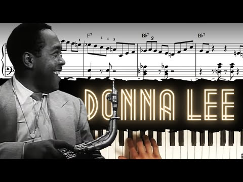 Donna Lee - Solo Piano Arrangement │Jazz Piano Lesson #39